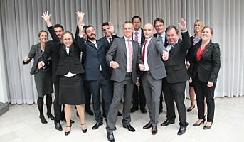 Bemannet med 14 spesialister og ledere