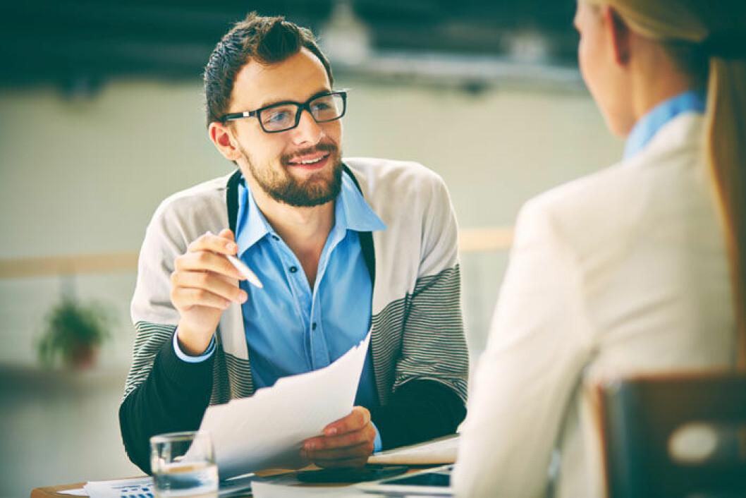 4-februar-Jobbintervju