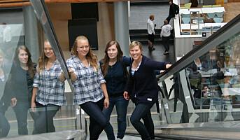 Rekordmange studenter i Norge
