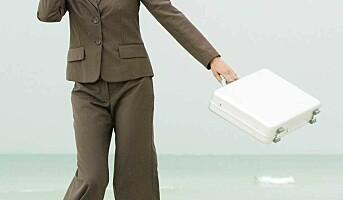 Trives på jobb tross finanskrise