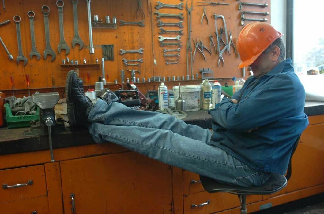 Arbeider-sovende