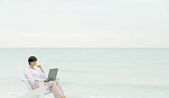 Slipper å sjekke jobbmail i ferien