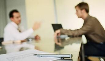 Oppskrift på et jobbintervju