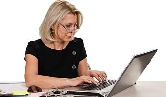 Stillesittende arbeid påvirker kvinners BMI