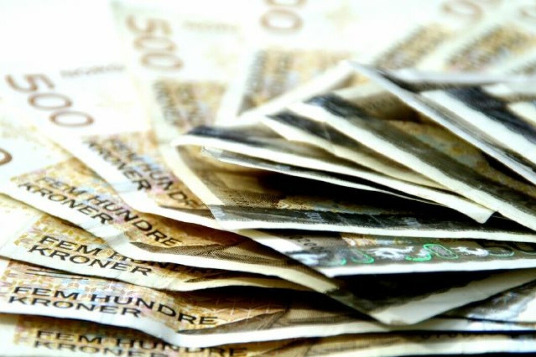 Svarte penger colourbox