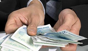 Måndeslønna opp 4 prosent