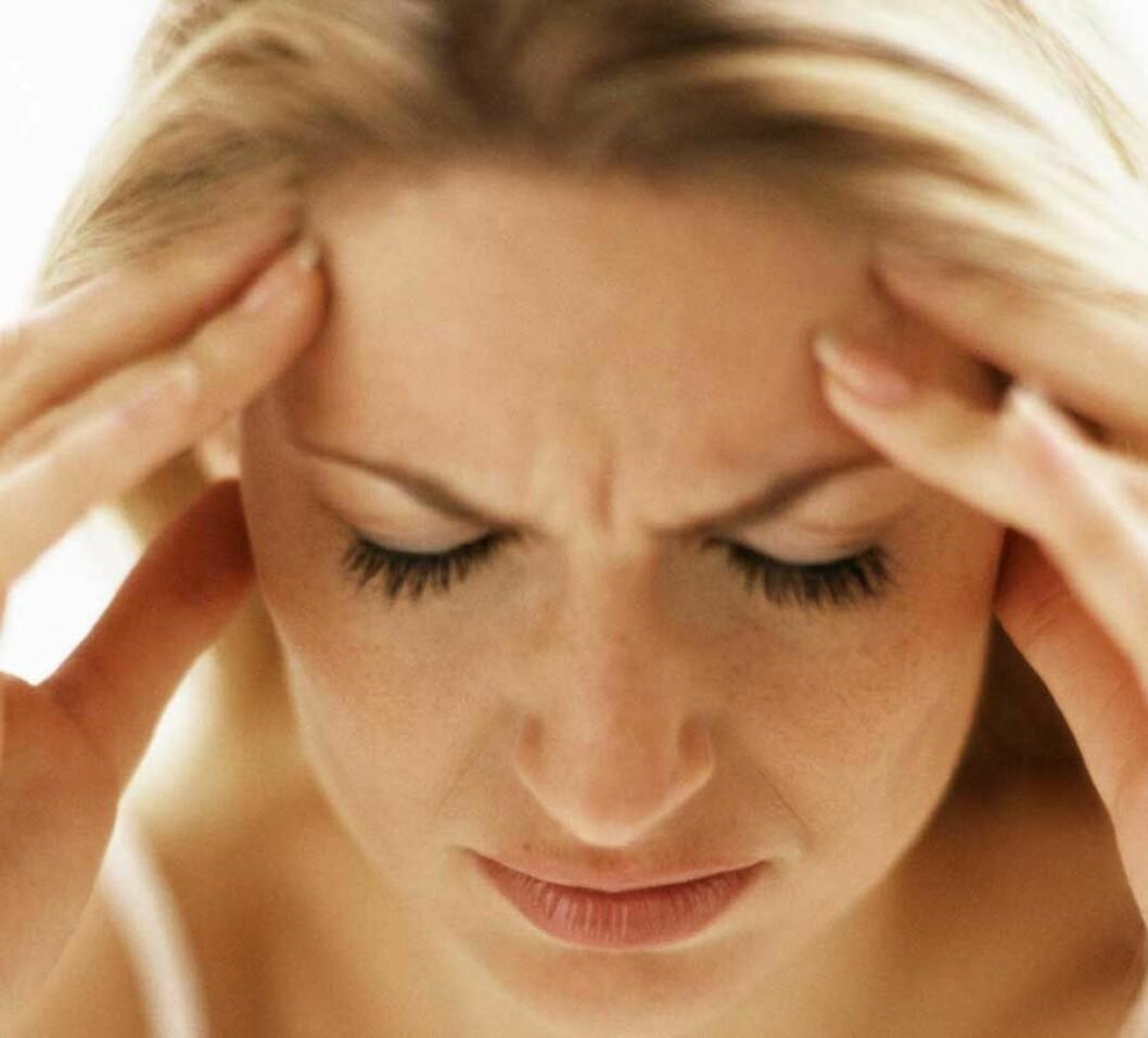 Kvinne med hodepine 1