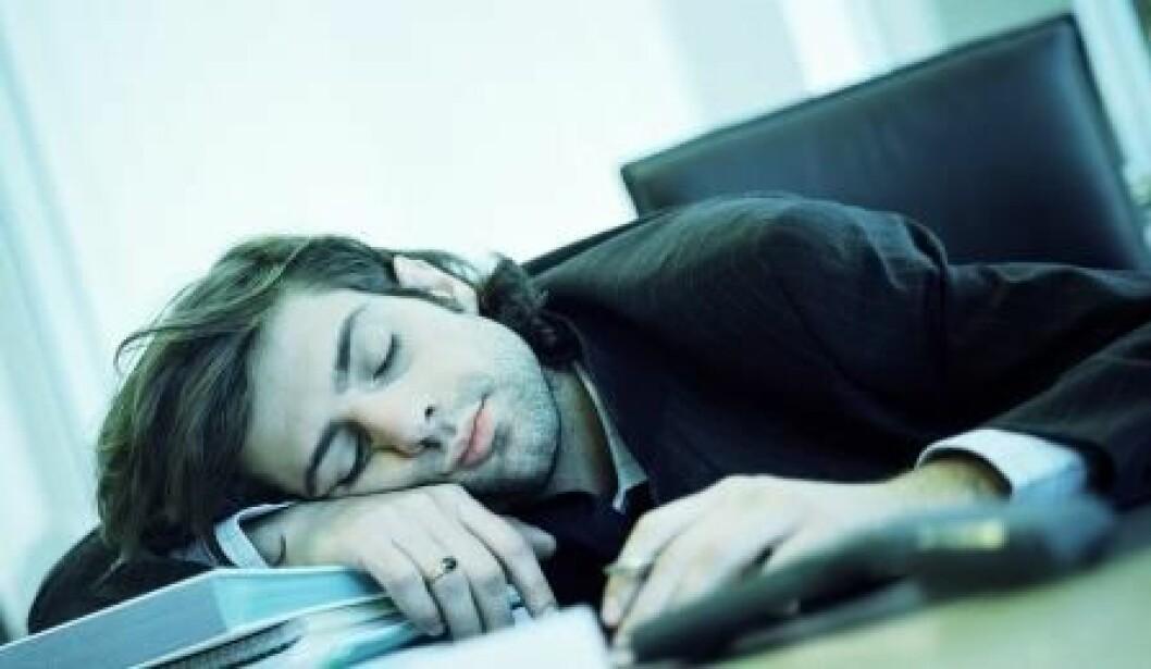 colourbox_trøtt på jobb
