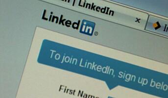 Sjefen skeptisk til LinkedIn-profil