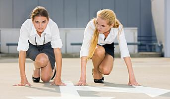 Kvinner når ikke opp i konkurransen om toppstillingene