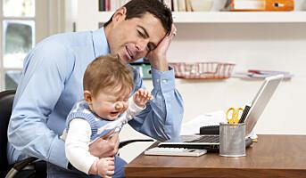 4 av 10 ledere prioriterer arbeid foran familie
