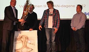 AKAN prisen 2012 til Veidekke