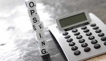 12 prosent færre konkurser og tvangsavviklinger