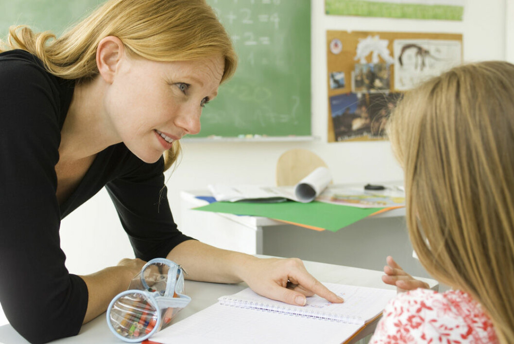 lærer, elev, veileder