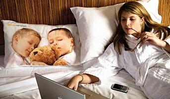 Barn hindrer kompetanseutvikling