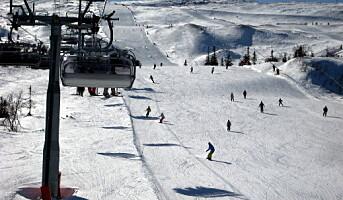 Vender tilbake til ski og fjell