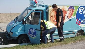 Dropper tiltak for økt trafikksikkerhet for ansatte