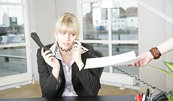 Kvinners stress gir fysiske plager