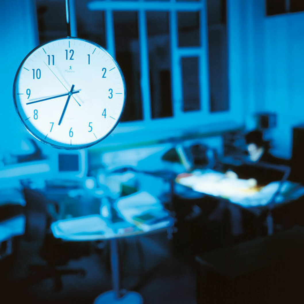 Kontor-klokke