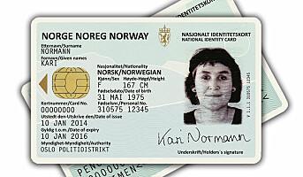 Nytt nasjonalt ID-kort