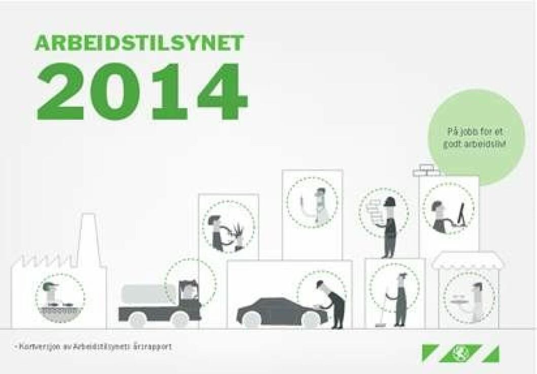 Arbeidstilsynet 2014 rapport