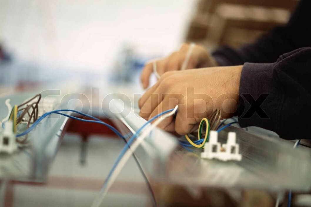 colourbox elektriker el-montør montør strøm