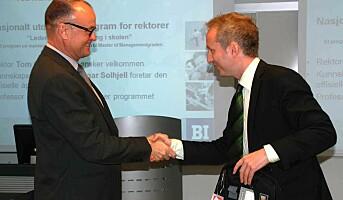 Norges første rektorskole åpnet