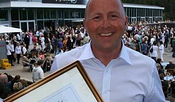 Årets Begeistrer 2009 fra TINE