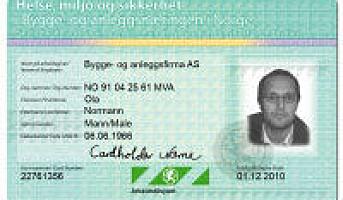 Varsler kontroll av ID-kort