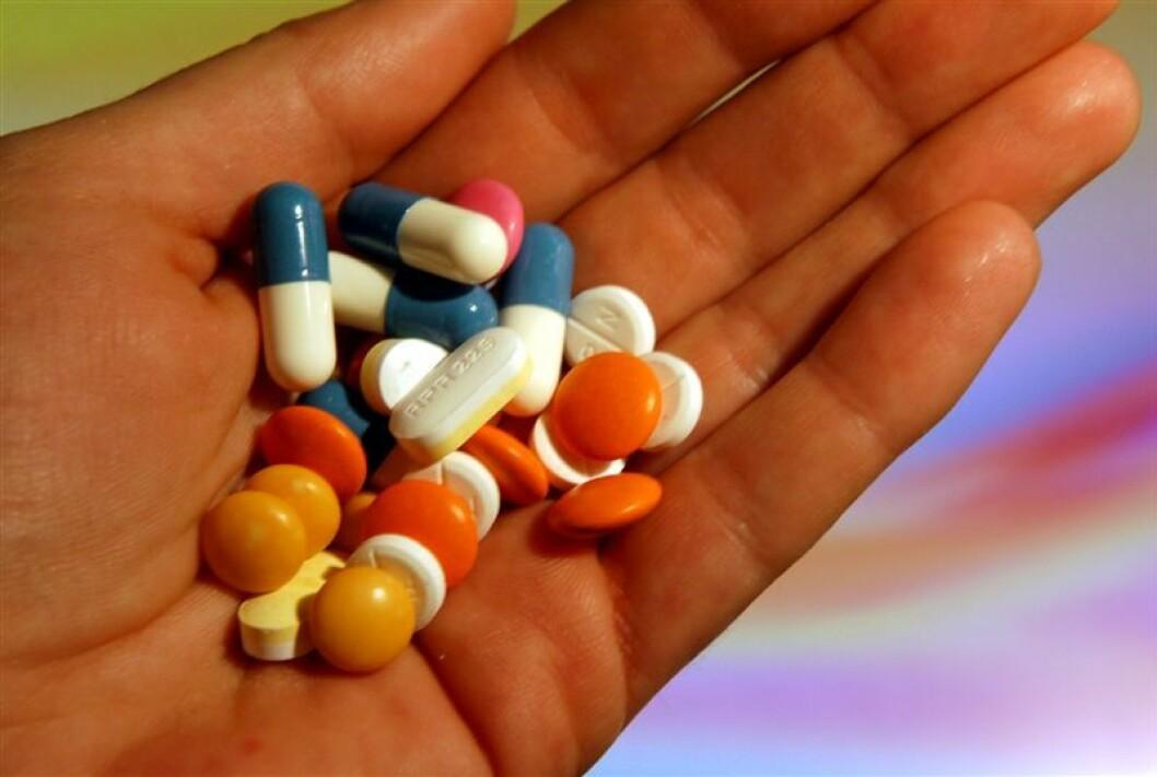 piller i hånda