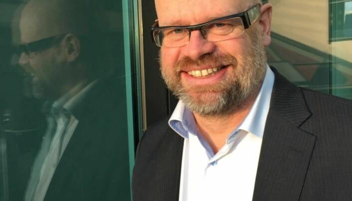 Even Bolstad i HR Norge. (<em>FOTO: Karine H.&nbsp;<br />Henriksen) </em>