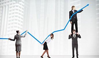 Menn søker suksess og prestisje i jobben