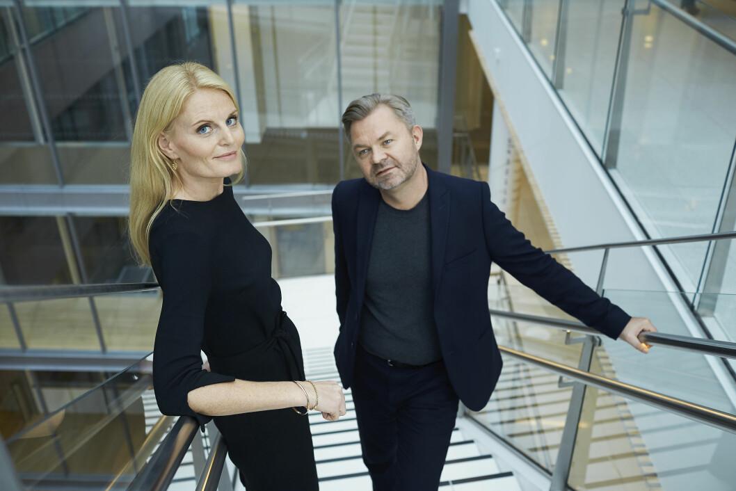 Forfatterne Gunn Kristin Olimstad og Øystein Bonvik.