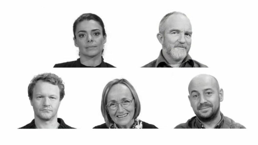 I «Den vanskelige samtalen» møter du disse fem medarbeiderne.