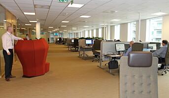 Åpne kontorlandskap eller løsning tilpasset ulike behov?