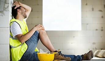 Fallulykker er vanligst i arbeidslivet