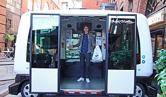 Vil levere matvarer på døren uten sjåfør