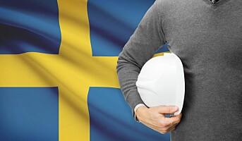 Færre svensker på norske arbeidsplasser