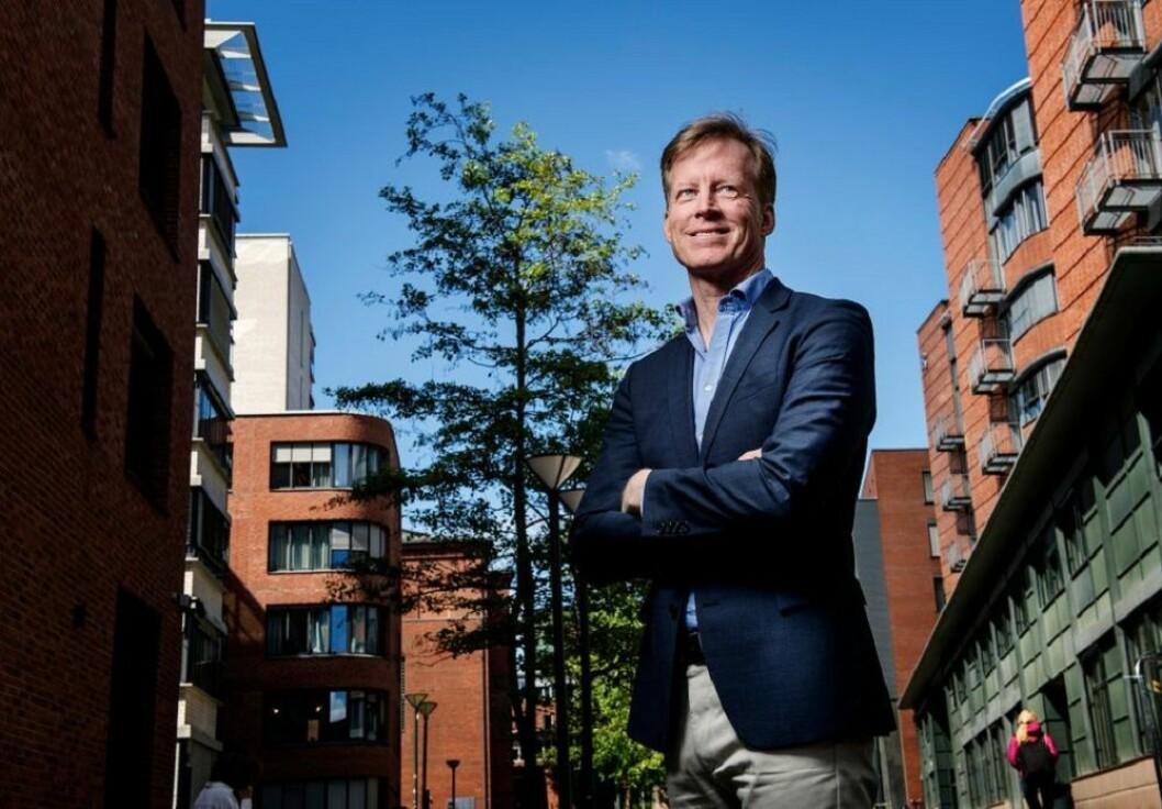 Rektor Curt Rice ved Høgskolen i Oslo og Akershus (HiOA).
