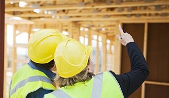 Stanset arbeid på 4 av 10 byggeplasser
