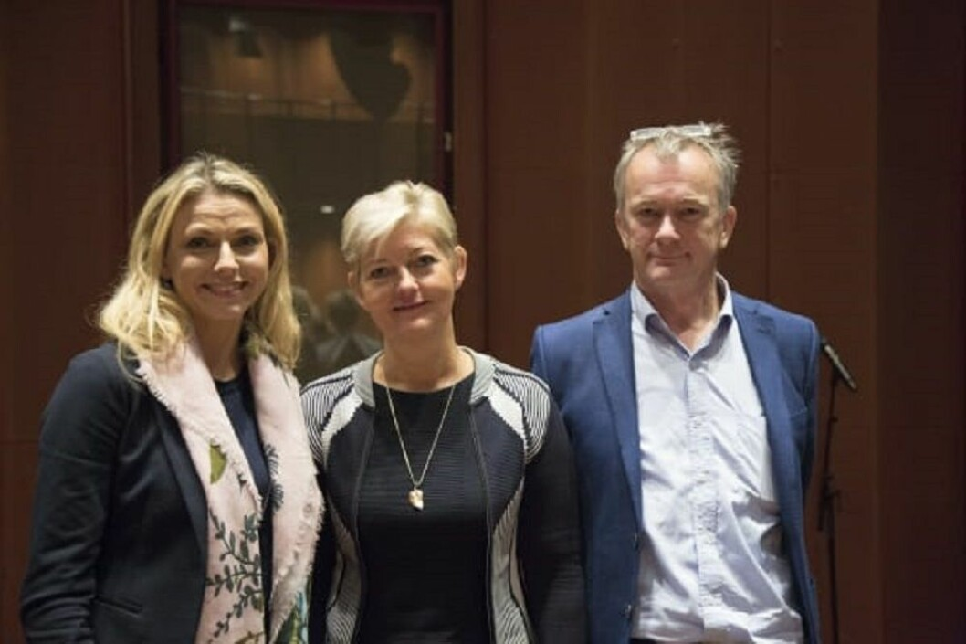 På årets tredje ManpowerGroup Forum var Marianne Hagen og Jan Ketil Arnulf som står på hver sin side av vår konsernsjef Maalfrid Brath foredragsholdere om den digitale revolusjonen.