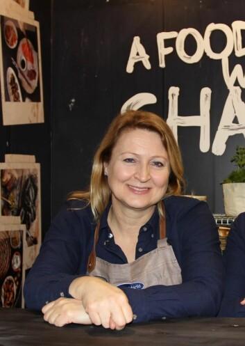 Siri Eng, Country Sales Manager i Santa Maria<br />Foodservice. (Arkivfoto: Karine H. Henriksen)