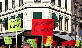 Politisk streik mot bemanningsbransjen