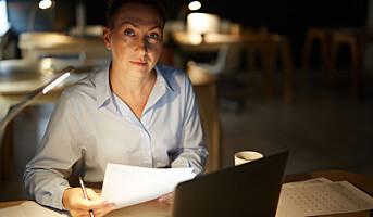 Kan smart belysning hjelpe nattarbeidere?