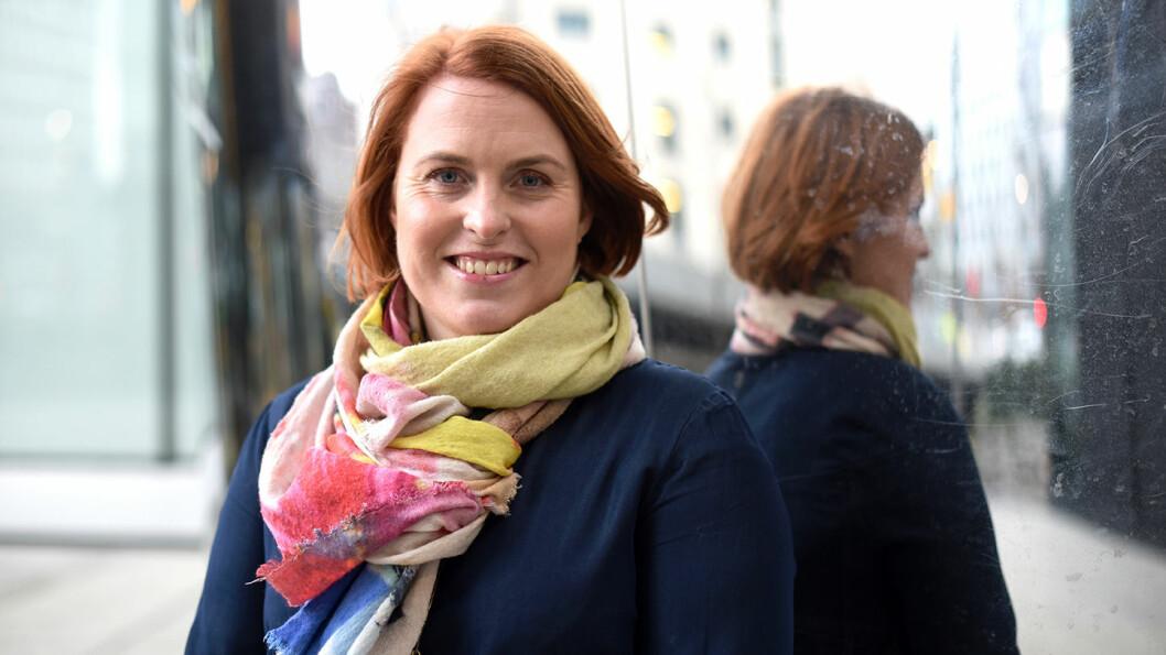 Kristine Meek blir direktør for kommunikasjon, rådgivning og analyse i Medietilsynet. Foto: Martin Fjellanger