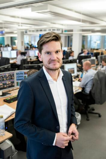 Sjeføkonom i Nordea, Kjetil Olsen.