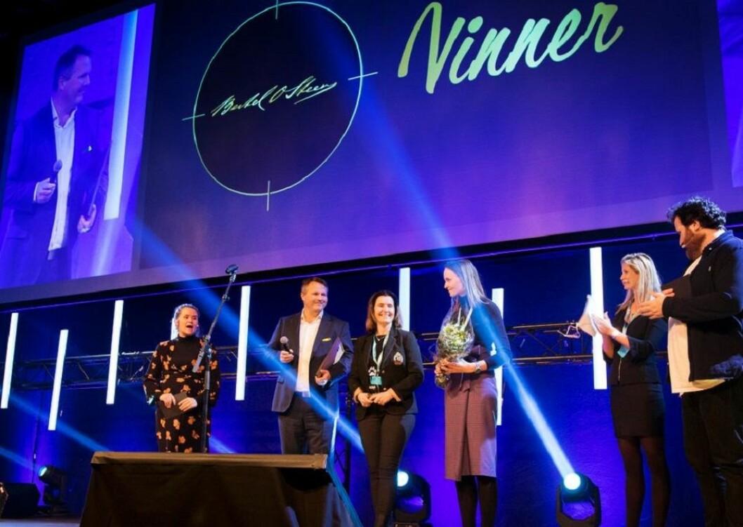 Bertel O. Steen vant prisen for Årets stillingsannonse. Foto: Finn.no
