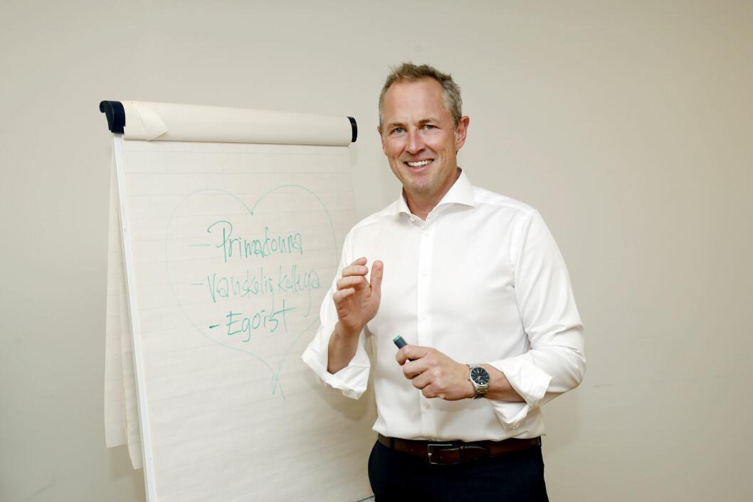 Per Henrik Stenstrøm har 25 års ledererfaring fra media. Nå jobber han som foredragsholder og rådgiver. (Foto: Kristin Svorte)
