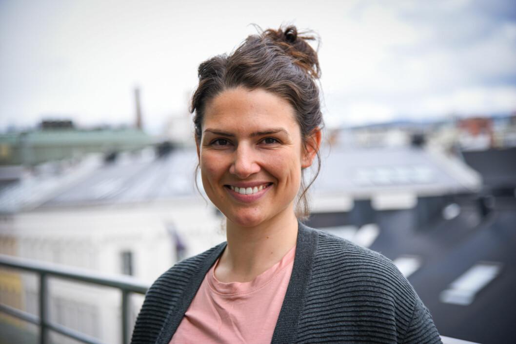 Ida Sørbye er Global innovasjonsrådgiver i Flyktninghjelpen. (Foto: Flyktninghjelpen)