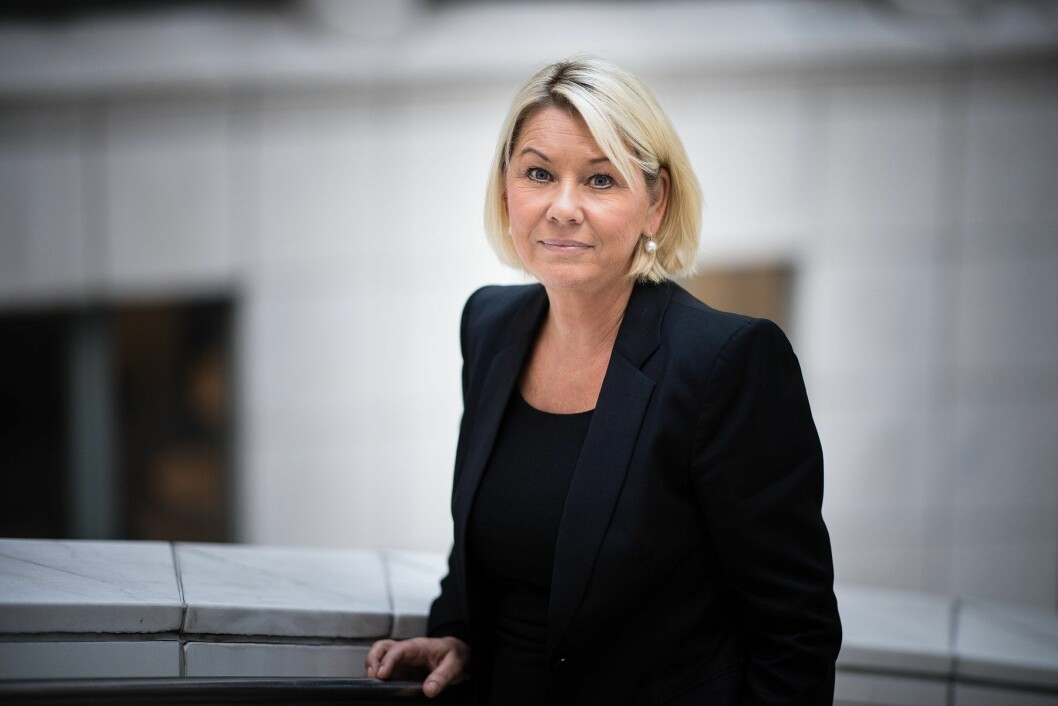 Kommunal- og moderniseringsminister Monica Mæland (Foto: Torbjørn Tandberg)